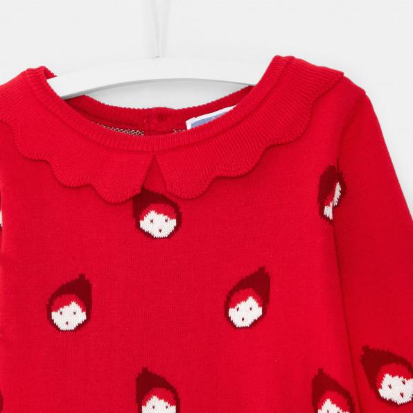 Sweter z motywem Czerwonego Kapturka dla dziewczynki