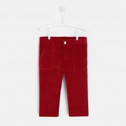 Welurowe spodnie dla chłopca