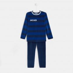 Welurowa piżama dla chłopca