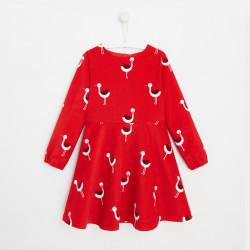 Sukienka z motywem małych...