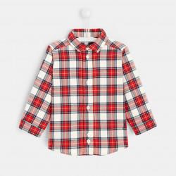 Koszula w kratkę dla chłopca