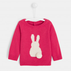 Sweter z motywem króliczka...