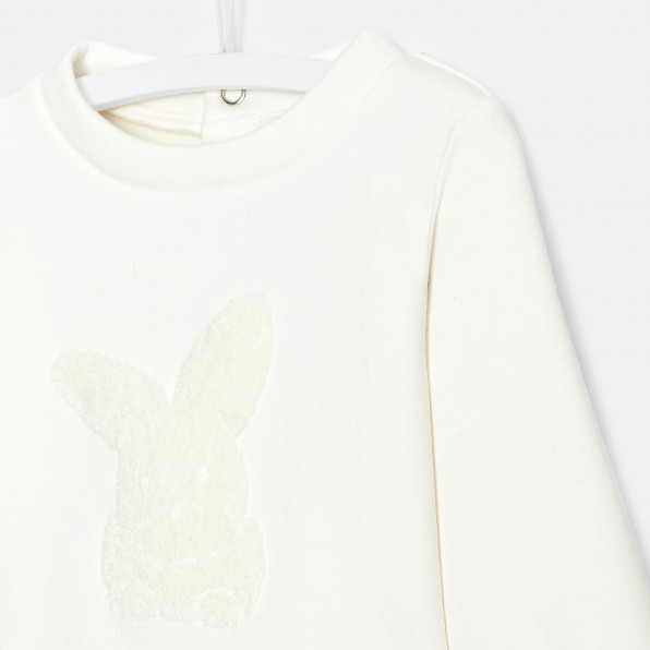 Bluza z motywem króliczka dla dziewczynki