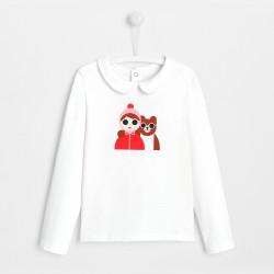 T-shirt z nadrukiem dla...