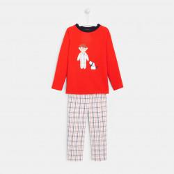 Piżama z flanelowymi...