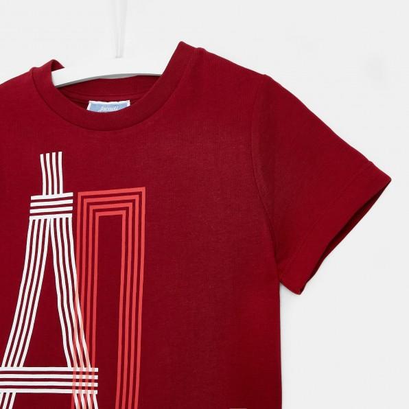 T-shirt z motywem Wieży Eiffla dla chłopca