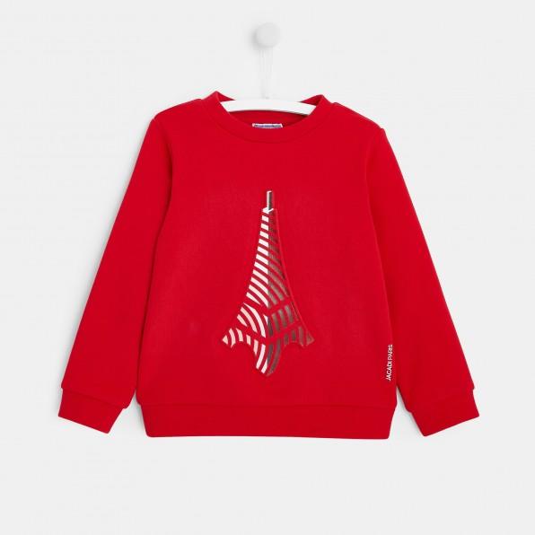 Bluza z motywem Wieży Eiffla dla chłopca