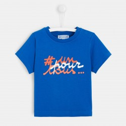 T-shirt z napisem dla chłopca
