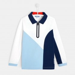 Koszulka polo color block...