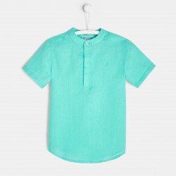 Lniana koszula dla chłopca