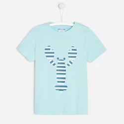 T-shirt z motywem homara...