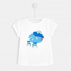 T-shirt z motywami Paryża...