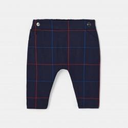 Spodnie w kratę dla chłopca
