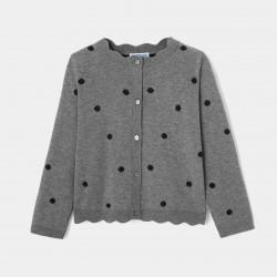 Sweter w kropki dla...