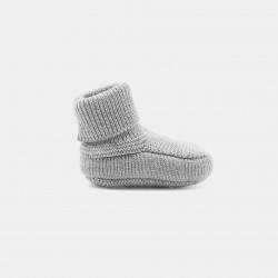 Dzianinowe buciki dla chłopca