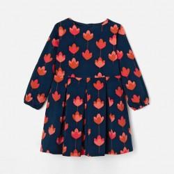 Sukienka z weluru dla...