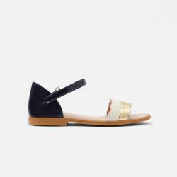 Skórzane sandały dla...