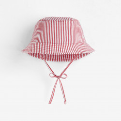 Bawełniany kapelusz w paski...