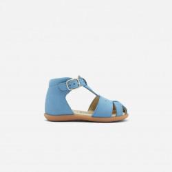 Skórzane sandały dla chłopca