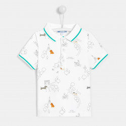 Koszulka polo z nadrukiem...