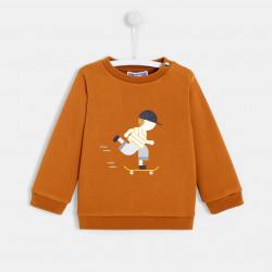 Wzorzysta bluza dla chłopca