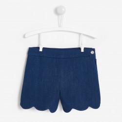 Jeansowe krótkie spodenki...